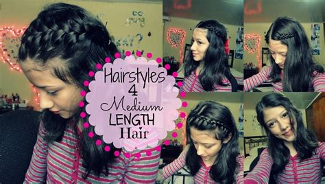 Simple Hairstyles For Shoulder Length Hair by Simple Hairstyles For Medium Length Hair School Hairstyles