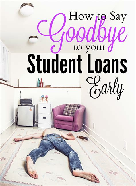 Paying Mba Debt by How To Pay Student Loans Early Mba Sahm