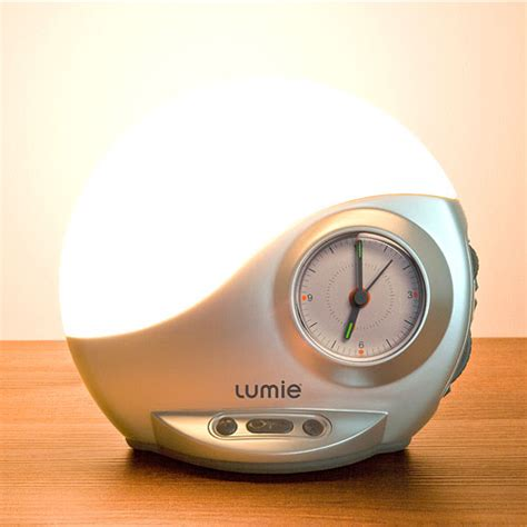 lumie bodyclock classic  sunrise alarm clock uk