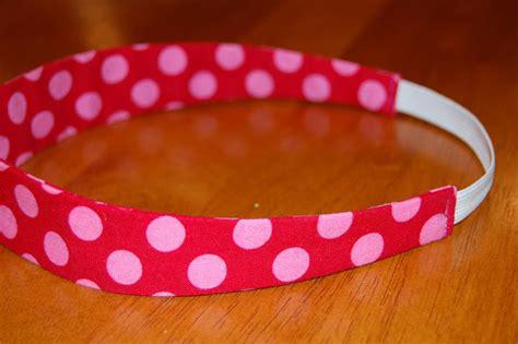 fabric headbands pattern paigeandbrooke elastic fabric covered headband tutorial