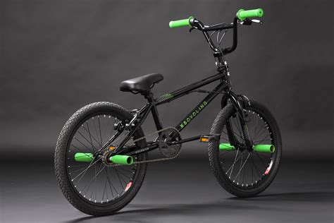 Bmx Freestyle 20 quot freestyle bmx bike quot scandium quot black green 360 176 rotor