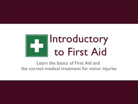 Aid Powerpoint Slides Final First Aid Slides Presentation