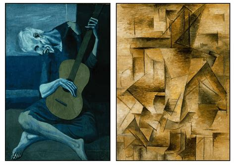 picasso guitar painting point of view creature and creator