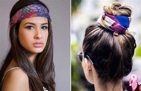 motorcycle hairstyles how do you wear your hair her bir bandana ile neler yapılabilir kadınlar kul 252 b 252