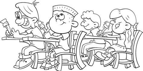 imagenes infantiles regreso a clases dibujos de ni 241 os en la escuela para pintar colorear im 225 genes