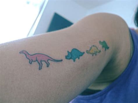 16 cute dinosaur tattoos desiznworld