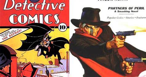 personajes del comic batman el primer c 243 mic de batman fue un quot plagio quot de la sombra