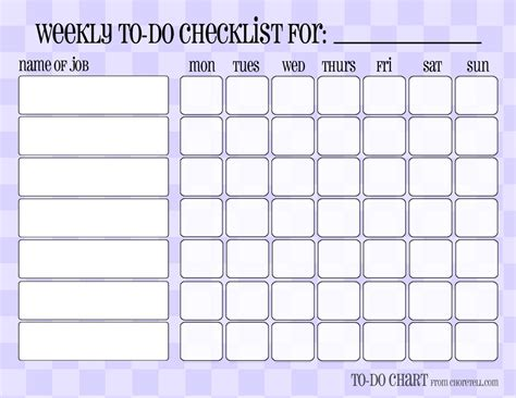 weekly chore chart template chore chart templates out of darkness