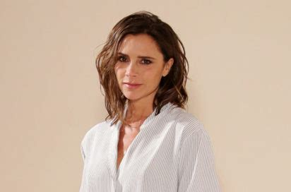 victoria beckham debuts at home to celebrate decade in