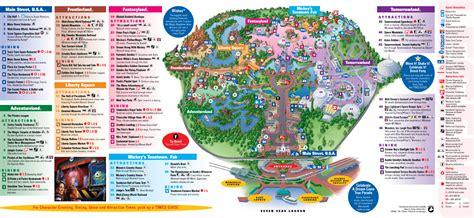printable version of magic kingdom map magic kingdom park map my blog