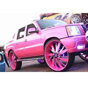 Veltboy314  Outrageous Pink Cadillac Escalade On 34