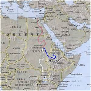 Nile River On World Map by Nile River Location Images Amp Pictures Becuo