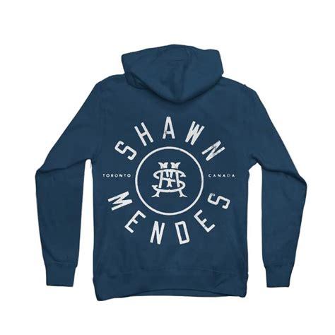 Hoodie Zipper Shawn Mendes Hitam shawn mendes hoodie initial seal zip