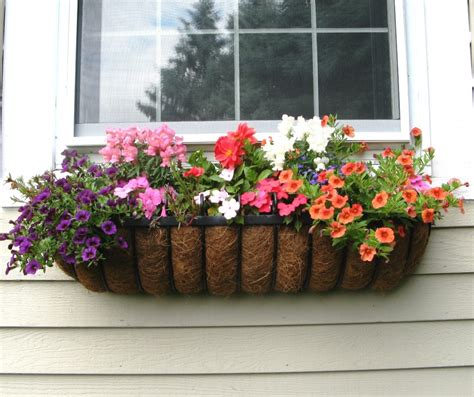 A Window Box Planter by Blooming Hayrack Planter Window Box Contest