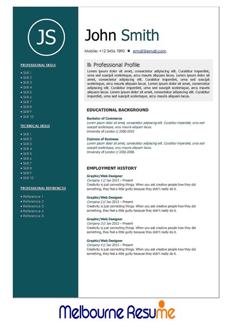 resume and cover letter services melbourne images cover
