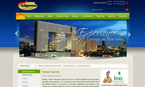 7 Websites To Visit To Get A Free Insurance Quote by 45 Inspiring Travel Tourism Website Designs