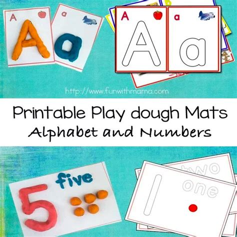 printable alphabet mat alphabet letter play dough mats numbers and arabic