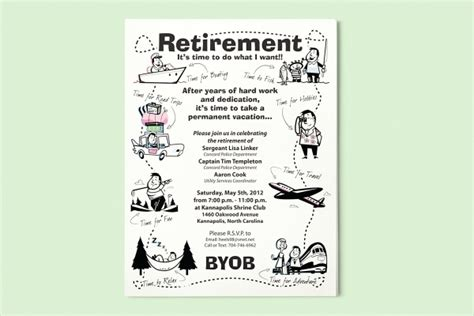 15 Retirement Flyers Psd Vector Eps Jpg Download Freecreatives Free Retirement Invitation Flyer Templates
