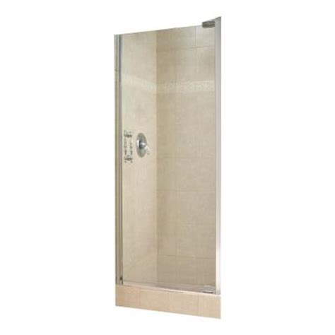 swing open shower doors maax alexa 28 1 2 in to 30 1 2 in w swing open shower