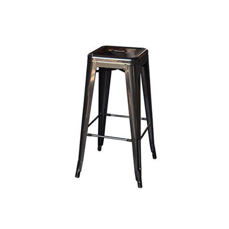 Black Stool Chair Tolix Stool Black Chair Hire Co