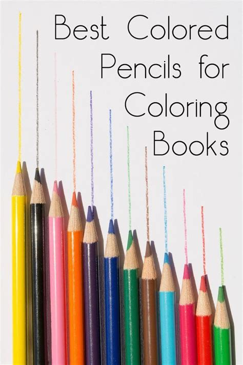 coloring book colored pencils best colored pencils for coloring books coloring top