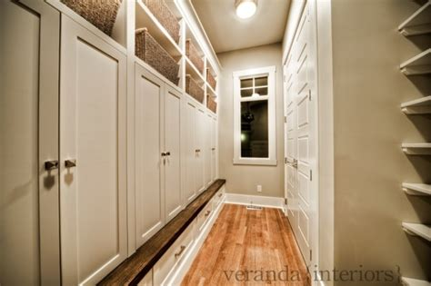 mudroom design transitional laundry room pratt and lambert lambswool veranda interiors
