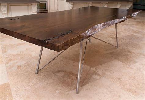 live edge kitchen table live edge table