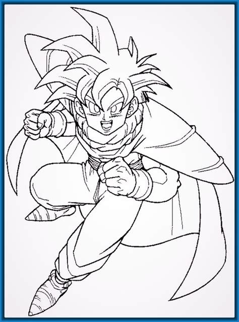 dibujos faciles related keywords dibujos faciles long dibujos de goku faciles related keywords dibujos de goku