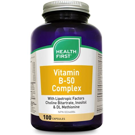 Vitamin B Complex Wellness Health Vitamin B 50 Complex Vitamin Fix