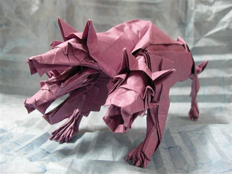 Cerberus Origami - mythology brought to through some