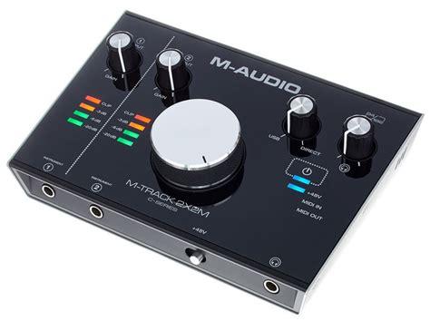 m audio m track 2x2m musikhaus thomann - 2x2m