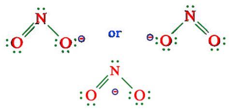 no2 lewis diagram image gallery no2 shape
