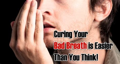 how to get rid of bad breath naturally at home my health