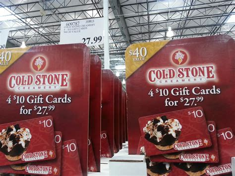 Costo Gift Card - costco cold stone gift cards lamoureph blog