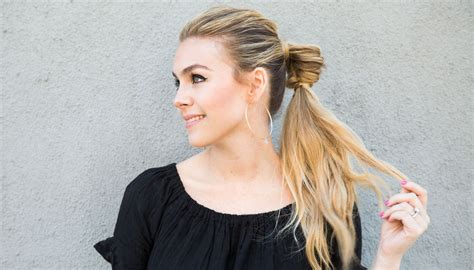 Work Hairstyles by A Week S Worth Of Easy Hairstyles That Are For