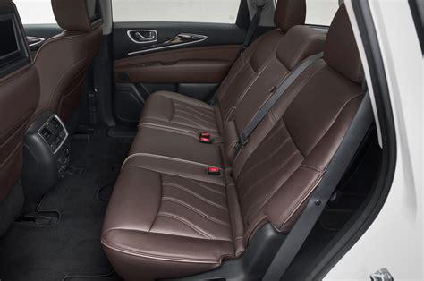 infiniti qx60 interior 2014 infiniti qx60 hybrid awd first test motor trend