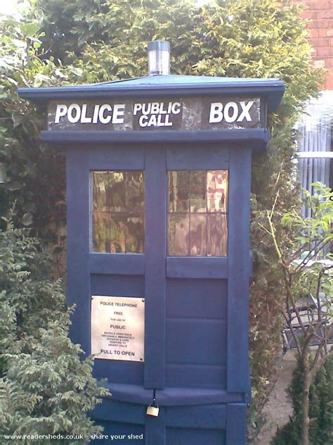Tardis Garden Shed by How Did Your Shed Do In Shed Of The Year 2012 The Best