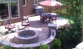 images stamped concrete patio: stamped concrete patio cost  stamped concrete patio with fire pit