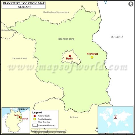 locate germany on world map where is frankfurt location of frankfurt in germany map