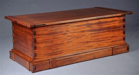Greene amp greene style blanket chest darrell peart furnituremaker