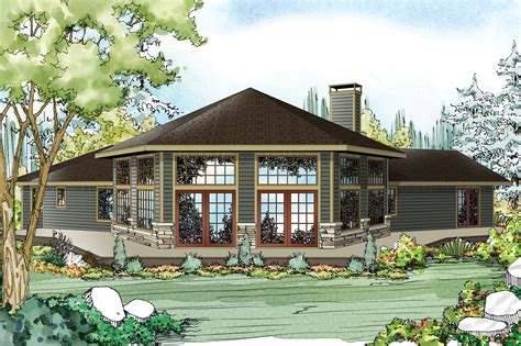 Rambler House Style by Ranch House Plans Silvercrest 11 143 Associated Designs