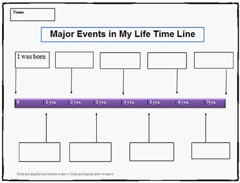 timeline template for pages 19 personal timeline templates free word pdf format