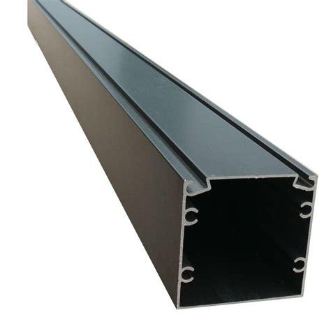 ez screen room ez screen room 8 ft x 2 in x 2 in bronze screen room aluminum extrusion with spline track