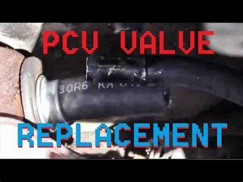 changing pcv valve   ford contour mercury mystique