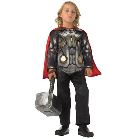 thor toddler boy s costume thor 2 deluxe fancy dress costume