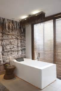 Modern Rustic Bathroom Wall Decor Textures Meet Modern Interiors At The Olive