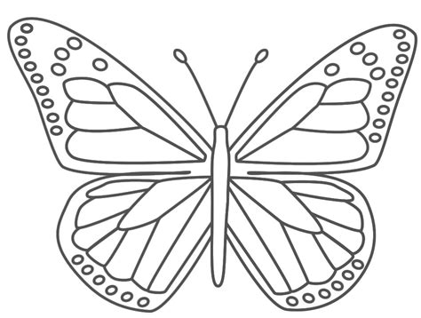 butterfly coloring pages kids az coloring pages