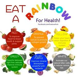 color for health an easy pop of color half way to the rainbow