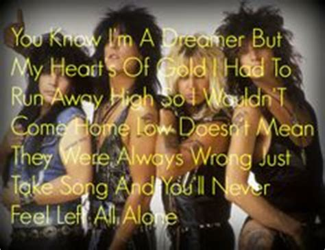 motley crue quotes like success