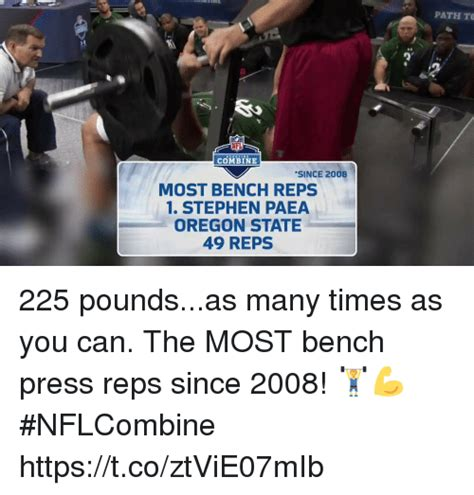 most bench press reps at nfl combine 25 best memes about oregon state oregon state memes